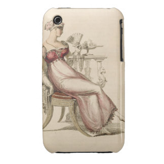 Evening dress or ball gown, fashion plate from Ack iPhone 3 Case-Mate Case