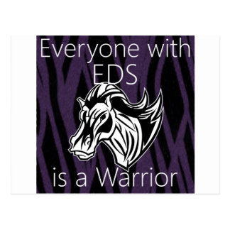Everyone is a warrior.png postcard