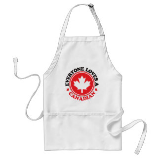 Everyone Loves a Canadian! Standard Apron