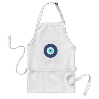 Evil eye standard apron