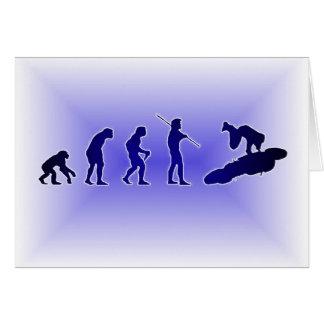 Evolution of the Highside (Blue) Greeting Card