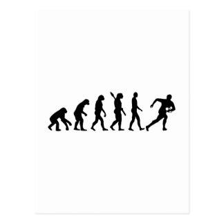 Evolution Rugby Postcard
