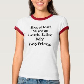 Excellent Nurses Look Like My Boyfriend Tshirt