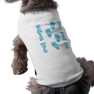 Exercise Daily - Walk with God (Matt 11:28-30) Sleeveless Dog Shirt