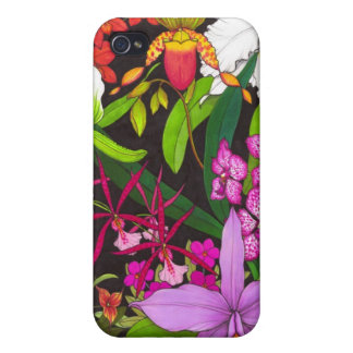 Exotic Orchid Garden Speck Case iPhone 4/4S Covers