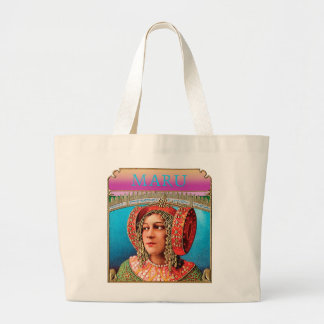 Exotic Woman Jumbo Tote Bag