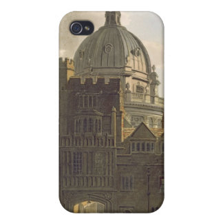 Exterior of Brasenose College and Radcliffe Librar Case For iPhone 4