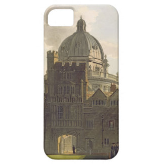 Exterior of Brasenose College and Radcliffe Librar iPhone 5 Cases