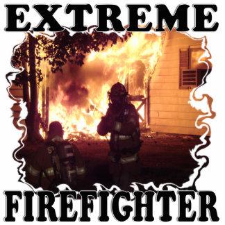 Extreme Firefighter Photo Sculpture Decoration