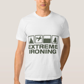 Extreme Ironing Lineup AA T-shirt