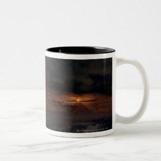 Eye of Sauron tower Two-Tone Mug