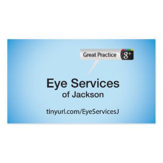Eye Services of Jackson Pack Of Standard Business Cards
