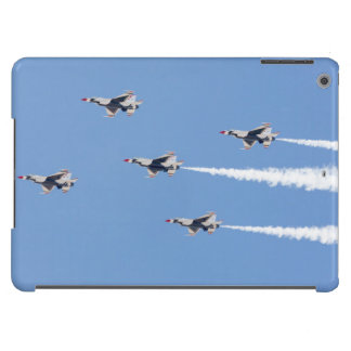 F-16 Thunderbirds flying the five-card formation Cover For iPad Air