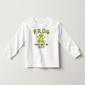 F.R.O.G. Fully Rely On God Shirts