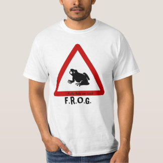 F.R.O.G. - Fully Rely on God - Sign Tee Shirt