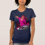 Fabulous Pink Lady DJ T-shirts