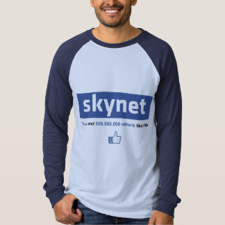 Facebook - Skynet T Shirts