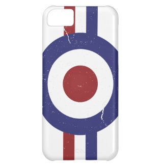 Faded and weathered Mod target iPhone 5C Case