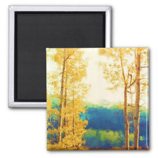Faded Aspens magnet