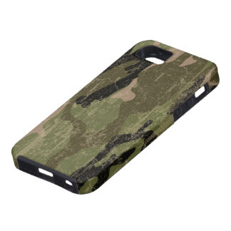 Faded Green Camo iPhone 5 Case