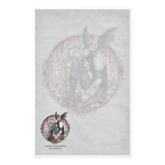 Fading Memories Gothic Stationery