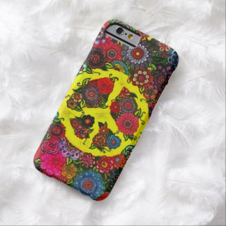 Faerie Flowers Peace Sign Art iPhone 6 Case