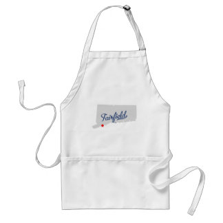 Fairfield Connecticut CT Shirt Standard Apron