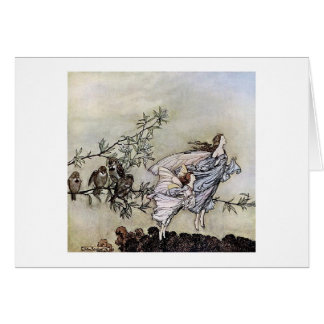 Fairies in Flight Greeting Card