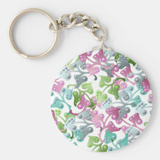 Fairy Leaf Pattern Keychain