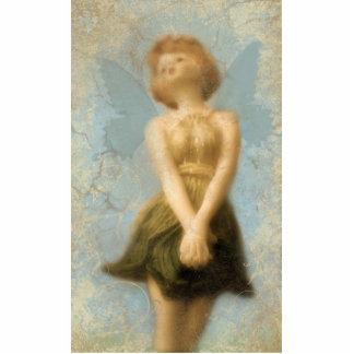 fairy standing photo sculpture