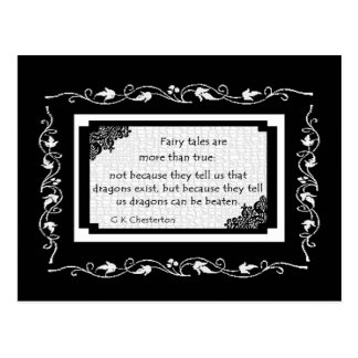 Fairy Tales Are... Postcard