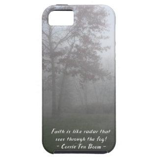 Faith sees through fog case for the iPhone 5