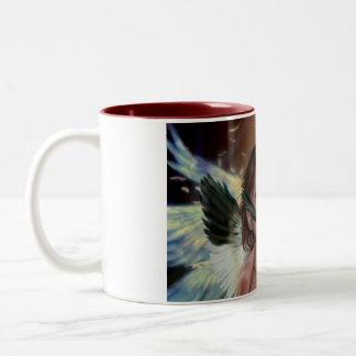 Fallen angel Two-Tone mug