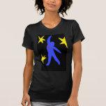 Falling ~ Modern Art ~ t - shirt
