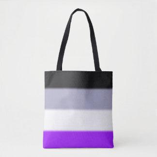Falln Asexual Pride Flag Tote Bag