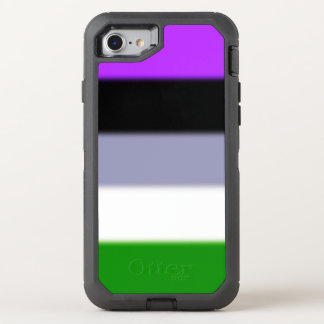 Falln Genderqueer Pride Flag OtterBox Defender iPhone 7 Case