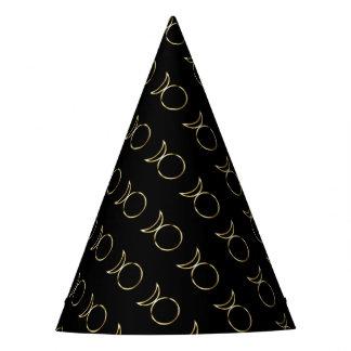 Falln Pagan Horned God Symbol Party Hat