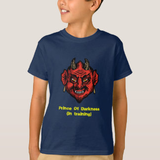 Fanged Red Devil With Horns T-shirt
