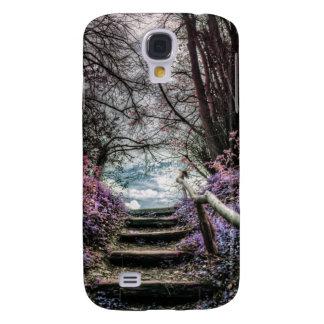 Fantasy Forest Steps Galaxy S4 Case
