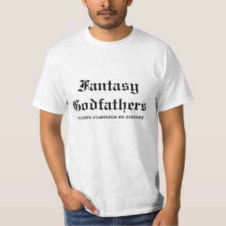 Fantasy Godfathers, THE FIVE FAMILIES OF FANTASY Tshirt