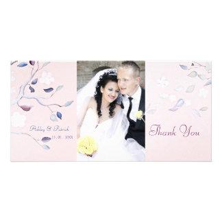 Fantasy Tree Wedding Thank You Personalised Photo Card