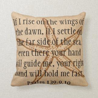 Far side of the sea bible verse starfish pillow throw cushions