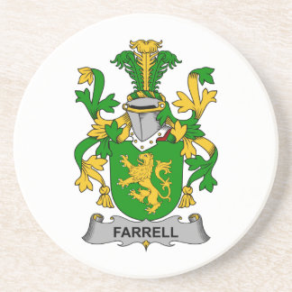 Farrell Family Crest Coasters