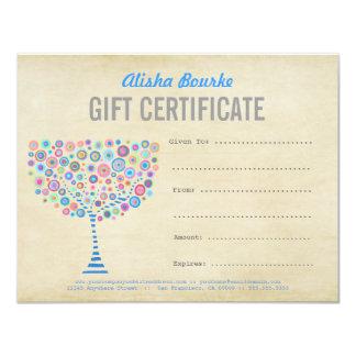 Fashion Business Gift Certificate Template 11 Cm X 14 Cm Invitation Card