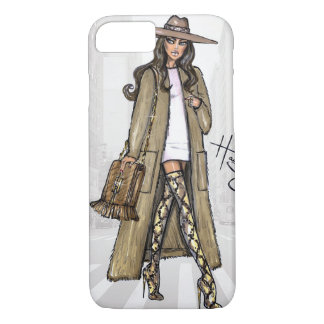 Fashion sketch. iPhone 7 case