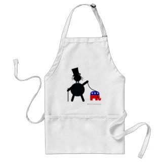 Fatcat and Republican Elephant Standard Apron