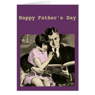 Father's Day Card Daughter Daddy's Girl Vintage