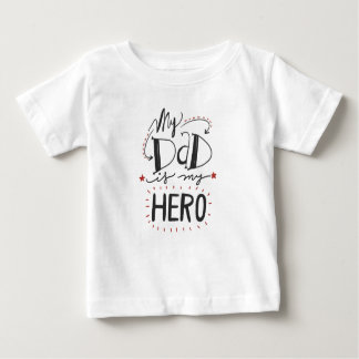"""Father's Day - """"My Dad is My Hero"""" Tshirt"""
