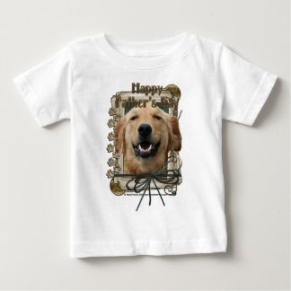 Fathers Day - Stone Paws - Golden Retriever Infant T-Shirt