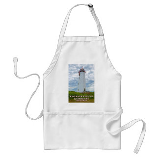 Faulkners Island Lighthouse, Connecticut Standard Apron